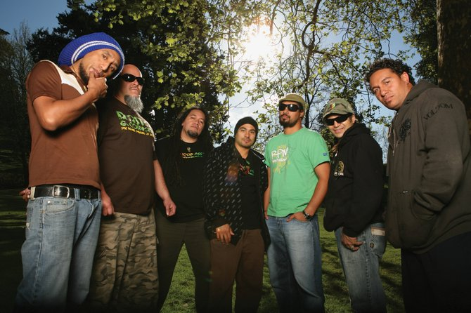 Katchafire, a Maori reggae band from New Zealand, opens for The Wailers on Sunday in the final Bud Light Rocks the Boat free concert series. The show starts at 2 p.m. in Gondola Square.