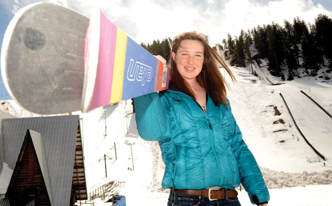A Junior Olympic champion, Madison Keeffe is one of Steamboat Springs' accomplished women's ski jumpers and is in better position than almost anyone in Steamboat to take advantage of women's ski jumping being included in the 2014 Winter Olympics. She said she was unsure whether that's what her future holds but that she is thrilled it is finally a decision she gets to make.