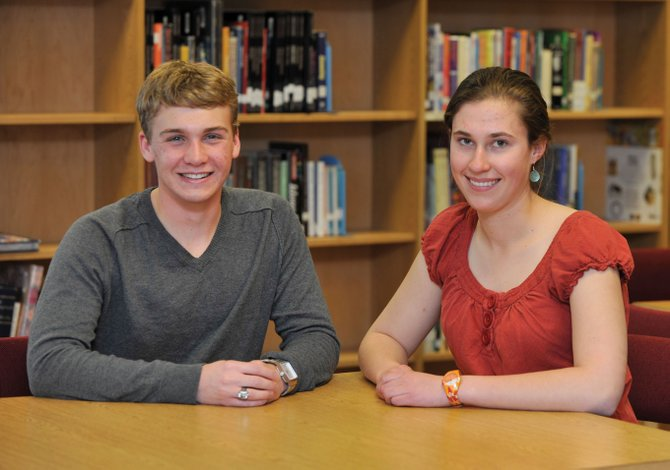 Steamboat Springs High School juniors Owen McIntosh and Martha Anderson were selected by Yampa Valley Electric Association to participate in Youth leadership camp, which will be held in Washington, D.C. in June.