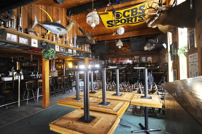 With the end of the ski season, several local bars and music venues are closing or cutting back on entertainment until crowds return for the summer season. The Tugboat Grill & Pub in Ski Time Square is closed until June 17.