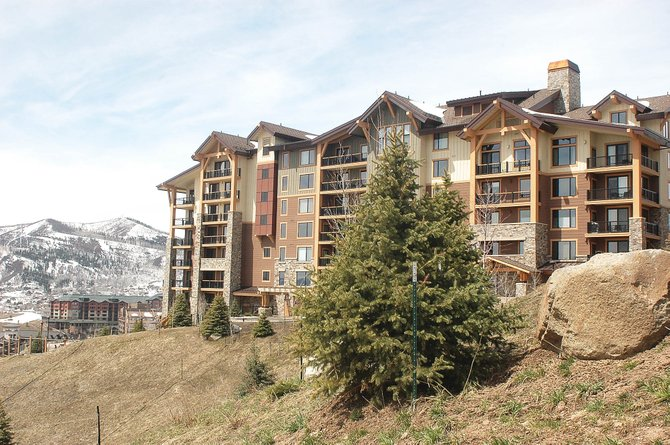 The developers of Edgemont used the proceeds from last week's $2.4 million sale of a three-bedroom plus den condominium to retire the last of the $45 million construction loan on the building that borders the slopes of Steamboat Ski Area.