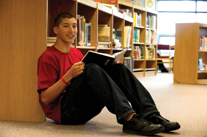 Steamboat Springs High School senior Nicolas Hessenberger was awarded a Daniels Fund scholarship.