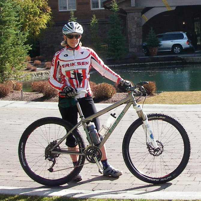 Elite cyclist and longtime Steamboat Springs resident Katie Lindquist is one of several Routt County residents who are sharing their melanoma experiences at www.yvmc.org during Melanoma Awareness Month in May.