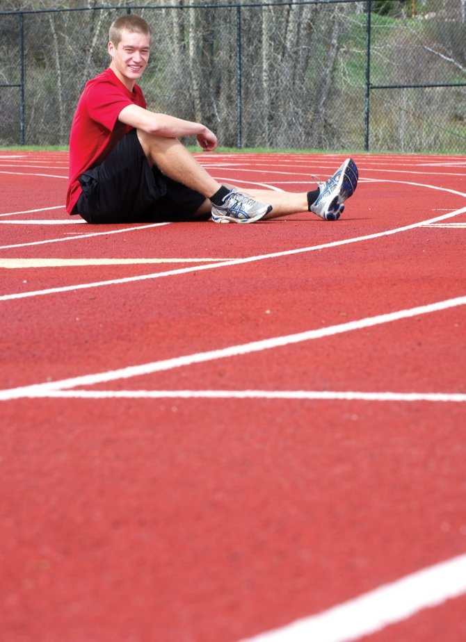 Middle distance runner Jeff Sperry will head to the state meet at Jefferson County Stadium this weekend looking for a top finish in the 800-meter run.