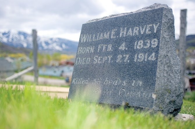 "The grave of William E. ""Bear Bill"" Harvey has been in Steamboat Springs Cemetery for nearly a century. After a recent discovery of his possible history as a Confederate States of America soldier during the Civil War, local veterans plan to place a Confederate flag on his grave during Memorial Day remembrances this week. The idea drew strong disapproval from the Colorado Springs chapter of the National Association for the Advancement of Colored People."