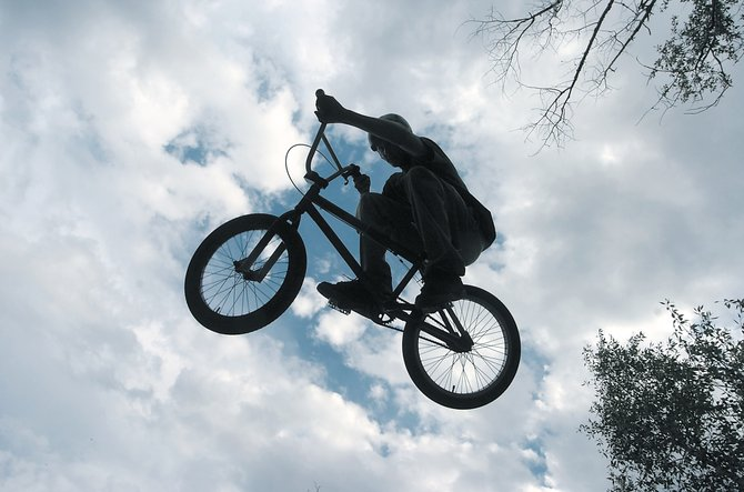 Greg Jansen, of Steamboat Springs, launches off of a jump in 2006. Flying Wheels BMX course will have an open house Monday to introduce riders to new features, new events and a brand new 10-race series.