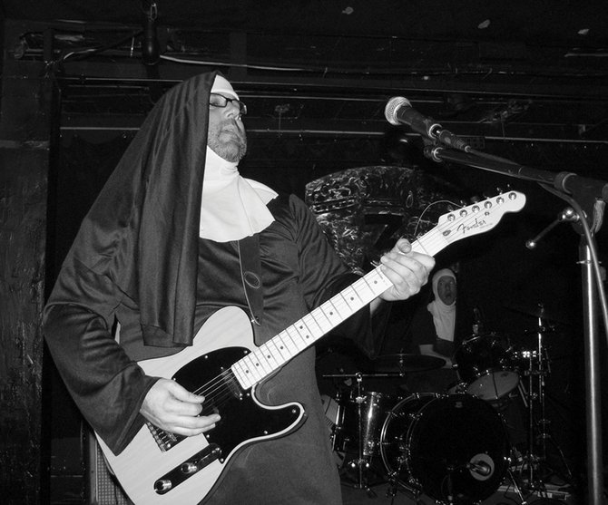The Clash cover band Nuns of Brixton aim to capture the raw energy and punk spirit of the Brit-punk band from the 1970s. They play a free show at 10 p.m. Saturday at Ghost Ranch Saloon.