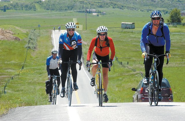 The Ride the Rockies event returns to Steamboat Springs this year and takes place from Saturday to June 17. The ride takes cyclists through Colorado and will feature 22,000 feet of vertical gain and more than 400 miles of riding.