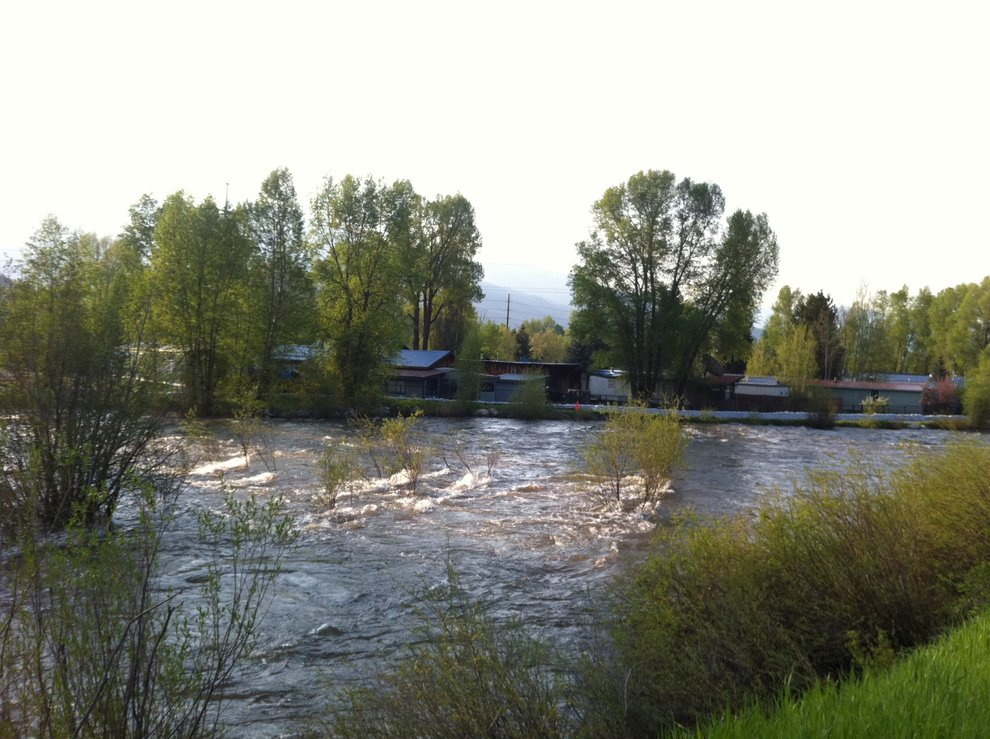 High water in routt county on june 6 steamboat pilot today for World fishing network directv