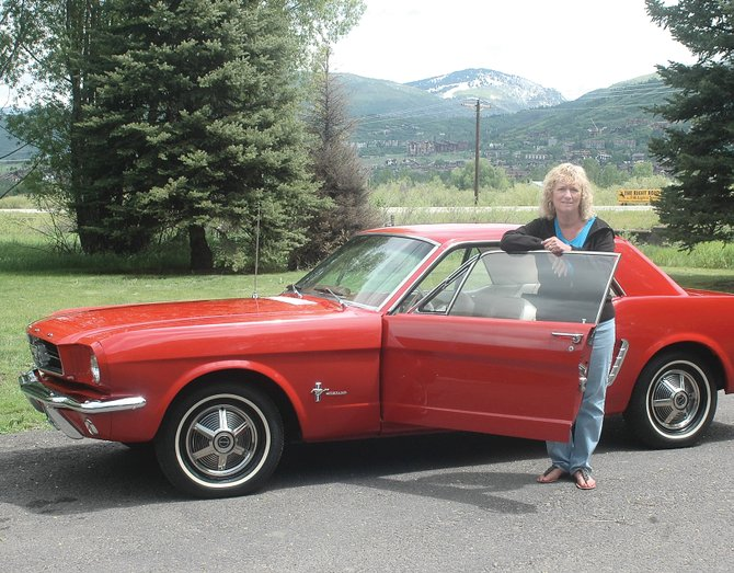 Carolyn Rule's original Rangoon red 1964-and-a-half Ford Mustang has been in her family since Day 1. Rule, a longtime Steamboat resident, received the car as a high school graduation gift in 1967. It will be on display in the Rocky Mountain Mustang Roundup Show 'n' Shine at 10:30 a.m. Saturday on Lincoln Avenue.