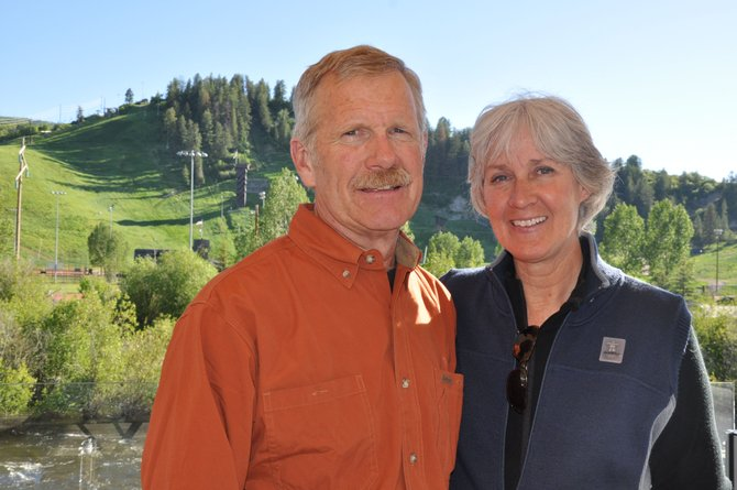 Steve and Pam Williams were recognized by the Yampa Valley Community Foundation as their 2011 philanthropists of the year. The Williams have been active supporters of the Steamboat Springs Winter Sports Club, whose fundraising efforts have supported Howelsen Hill.