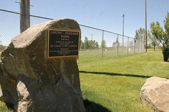 Lousy-Simpson Park, pictured above, was named the best recreation spot in the 2011 Best of Moffat County contest. Tammy Seela, Moffat County's parks and recreation manager, said the park provides a family-friendly atmosphere.