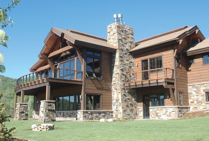 The developers of Alpine Mountain Ranch made a statement about their faith in the health of the local luxury market this week when they unveiled their new $4.45 million house on Bald Eagle Drive.