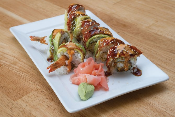 The Sambi Roll is one of the most popular items at the new Sambi Cafe in downtown Steamboat Springs.