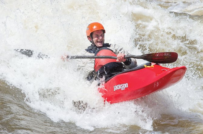 Surf's Up: At Home in Steamboat Springs Editor Eugene Buchanan researches new adjectives to describe this year's runoff.