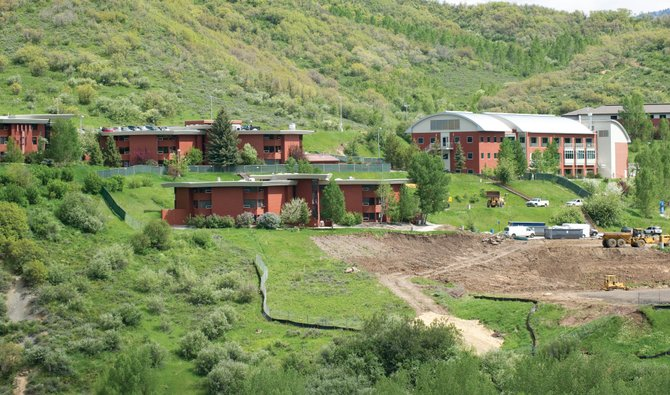 The dramatic $20 million addition to the Colorado Mountain College Alpine Campus on the western edge of Steamboat's Old Town neighborhood is the biggest development news in town this year.