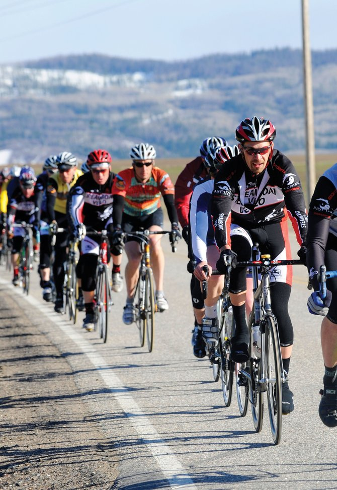 In 2009, Corey Piscopo organized the four-day Steamboat Stage Race, the only race of its kind in Colorado. The event attracted 305 riders, and as many as 400 competitors are expected to race this year.