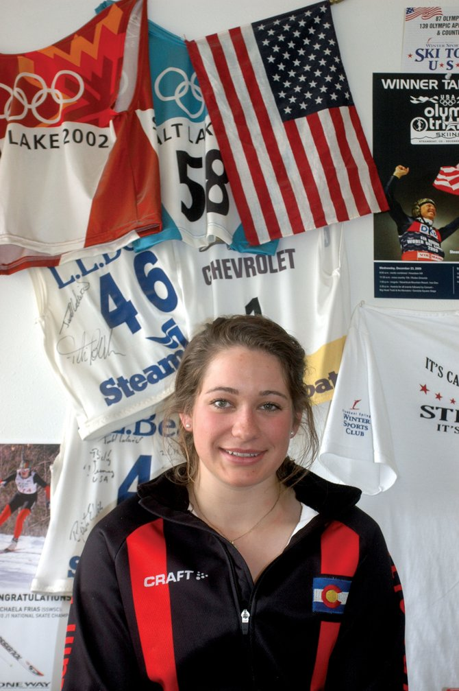 Michaela Frias attracted national attention in March 2010 when she captured a gold medal at the Junior Olympics in Presque Isle, Maine.