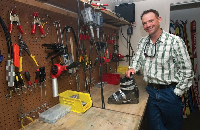 Tim Widmer returned to Steamboat after getting his Bachelor of Science in ecotourism from Colorado State University in Fort Collins and began working as a boot fitter and salesman at SureFoot.