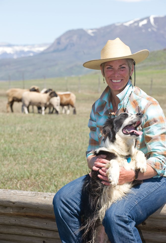 Marianne Sasak is the driving force behind the Steamboat Stock Dog Challenge, a Labor Day weekend event she started on her ranch eight years ago.