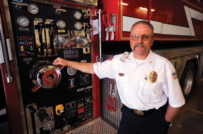Jay Muhme, the Steamboat Springs Fire Rescue fire marshal, is a lifetime local.