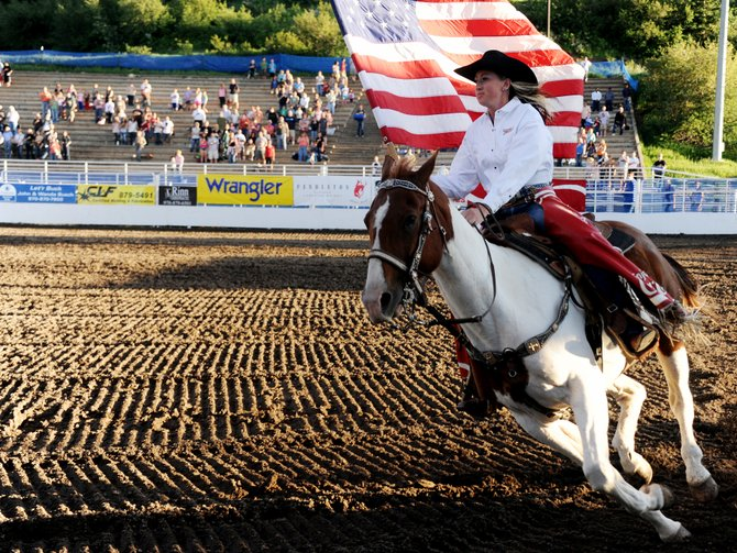 The rodeo returns starting tonight with a ranch rodeo, and for a three-night stay for the Steamboat Springs Pro Rodeo series from Saturday to Monday.