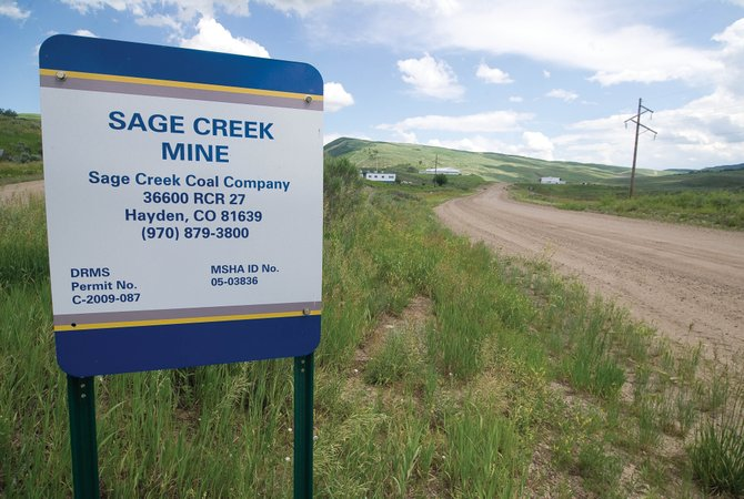 The Bureau of Land Management is hosting a meeting next month to make public and take comment on an environmental assessment required as part of the leasing process for the Sage Creek Mine, which is located south and a little east of Hayden.