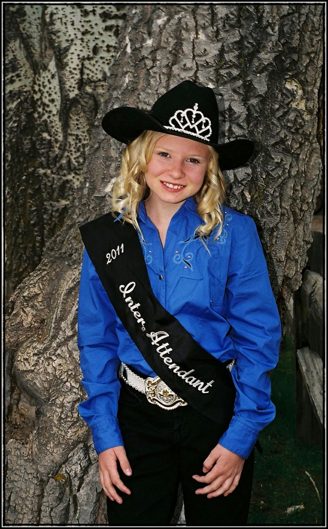 Moffat County Fair Intermediate Queen Attendant