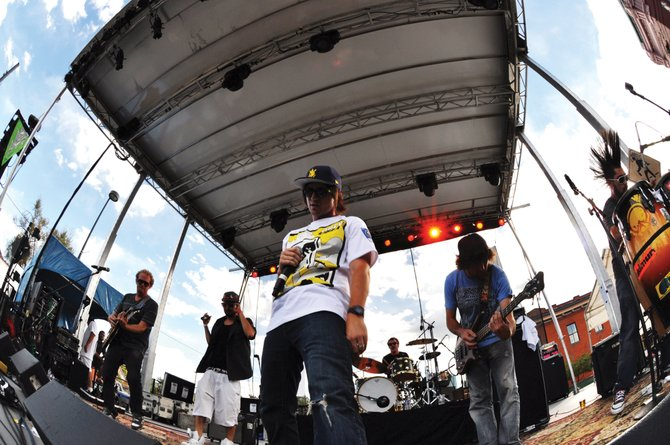 MTHDS, or Music That Heightens Different Senses, fuses live rock with hip-hop beats. The Denverites play at 10 p.m. Friday at Ghost Ranch Saloon. The cover is $5.