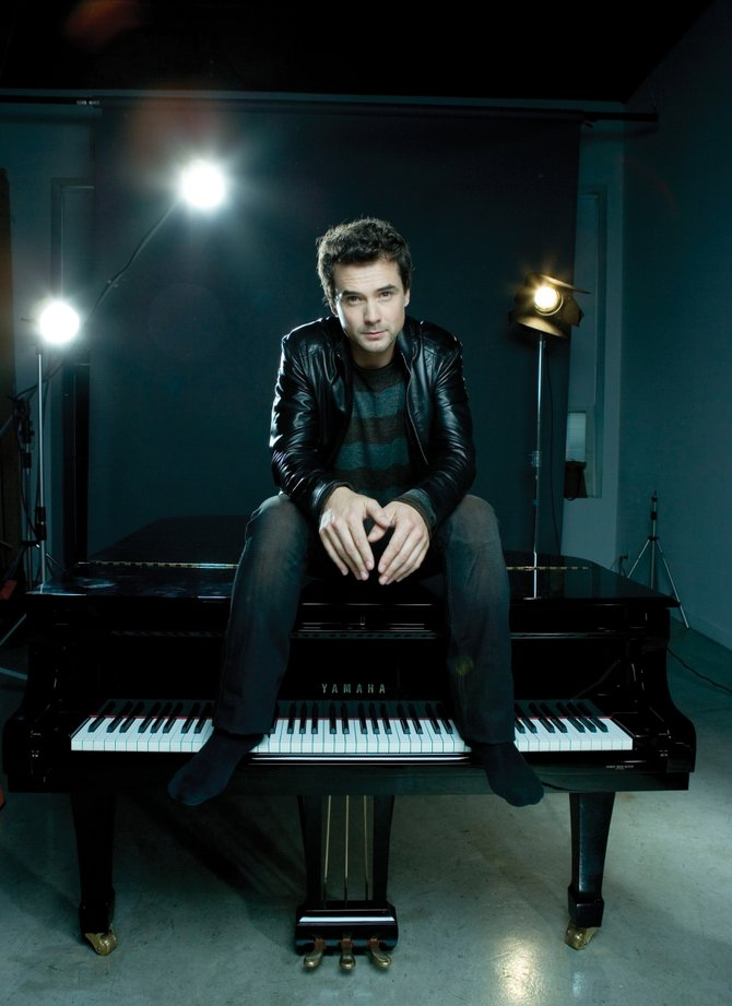 Among the variety of artists performing this week at Strings Music Festival is piano sensation Michael Kaeshammer.