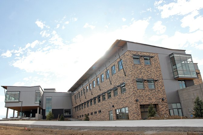The new Colorado Northwestern Community College campus is almost finished. School officials will host a ribbon-cutting ceremony at noon Monday to open the campus. Tours will be provided afterward. The event is free and open to the public.