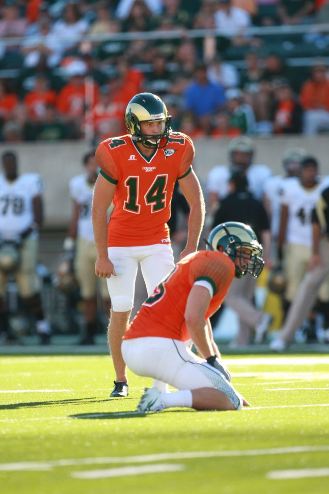Colorado State University kicker Ben DeLine enters his senior season with a chance to finish as one of the schools top kickers of all-time. DeLine, a 2008 Steamboat Springs High School graduate, needs 20 field goals this season to move into first place for field goals made in a career.