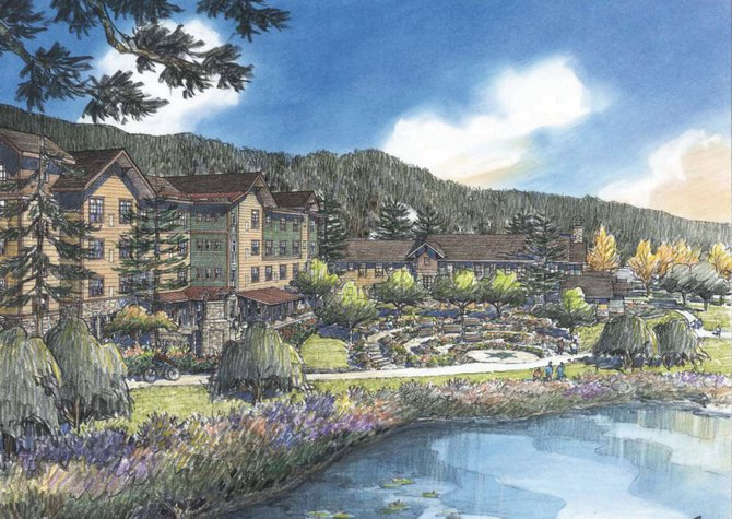 The 121,000-square-foot continuous care facility would include as many as 60 skilled nursing studio apartments as well as independent living apartments and assisted living apartments. The facility also will include memory care apartments for seniors. The center is on a 6-acre site just east of Casey's Pond and close to the intersection of U.S. Highway 40 and Walton Creek Road.