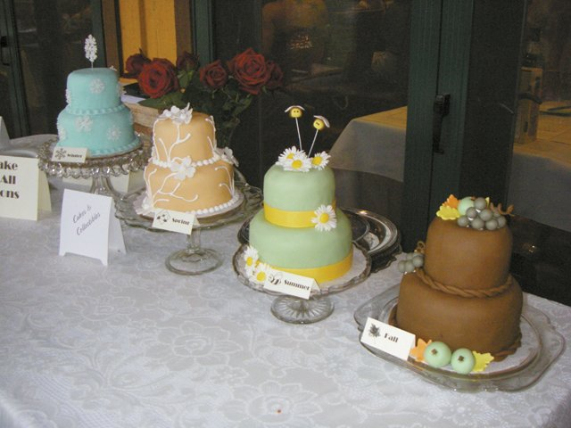 A cake for all seasons, by Cakes & Collectibles Shoppe, at the Decadent Desserts fundraiser in 2007. This year's event is from  6 to 8:30 p.m. Saturday at The Steamboat Grand.