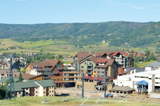 The developers of One Steamboat Place sold a pair of four-bedroom units at the base of the ski area this week to destination club Exclusive Resorts for $2.35 million each. The August sales come after a tough month in July for the Routt County real estate market.