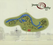 Layout of Yampa Valley Golf Course