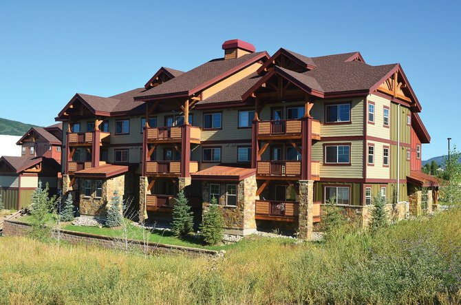 Of the original 47 modest condominiums in First Tracks at Wildhorse Meadows, a dozen remain, and the lending bank has introduced another schedule of price cuts intended to sell out the project. It was originally built in 2009 to meet the city's affordable housing requirements but is of high-enough quality to have found vacation buyers with new expectations.