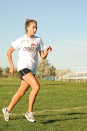 Brenna Ciesco, a Moffat County High School sophomore, placed 34th in last year's 4A state meet and is the MCHS varsity cross-country team's top returning girl.