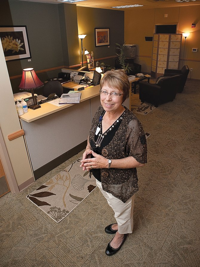 Jan Fritz, director of cancer services at Yampa Valley Medical Center, will be honored as one of the recipients of the Doc Willett Award on Thursday at Strings Music Pavilion. Fritz, a registered nurse, helped launch a chemotherapy center and hospice program.