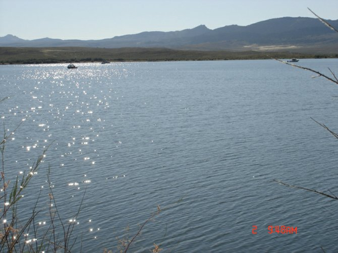 Crews search this morning for Chad Running, 35, of Craig, at Flaming Gorge Reservoir in Utah. Running is believed to have drowned in the reservoir at about 5:30 p.m. Thursday.