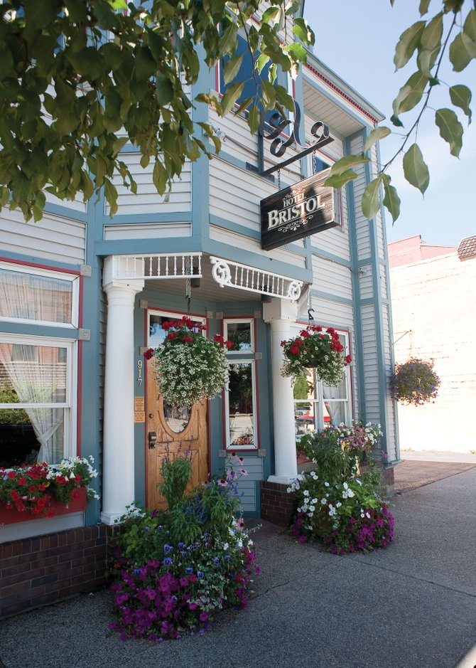 Hotel Bristol in downtown Steamboat Springs is up for an administrative approval of a city permit later this month that would pave the way for a new look echoing that of The Victoria a couple of doors away.