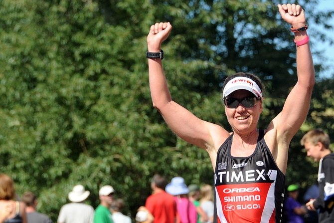 Fort Collins athlete Wendy Mader, who blew away the women's field at this year's Steamboat Springs Triathlon, will speak at 6 p.m. today about how to manage a life and a training schedule.