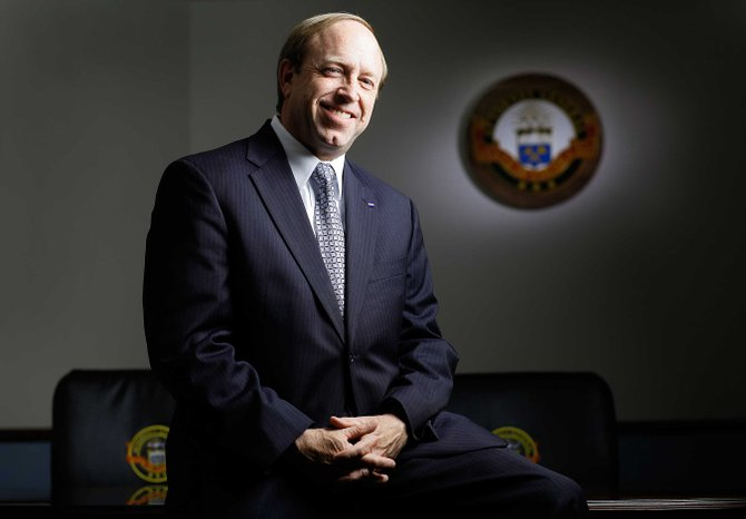 Colorado Attorney General John Suthers will visit Northwest Colorado communities next week. He is scheduled to host a public meeting at 3:30 p.m. Monday at The Center of Craig, 601 Yampa Ave., to discuss crimes such as scams and identity theft.