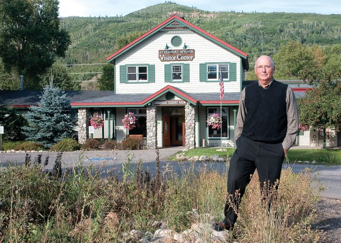 Tom Kern, the new CEO of Steamboat Springs Chamber Resort Association, began work Sept. 6. One of his top priorities is to develop a sustainable funding source for summer marketing in Steamboat Springs.