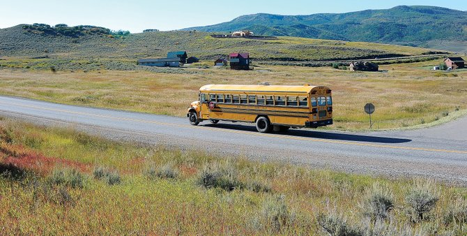 The South Routt School Board talked about pursuing a new elementary school in Stagecoach as an effort to keep families in the district. The school district is looking at a 9-acre parcel near the Eagle's Nest and Red Hawk Village subdivisions it owns.