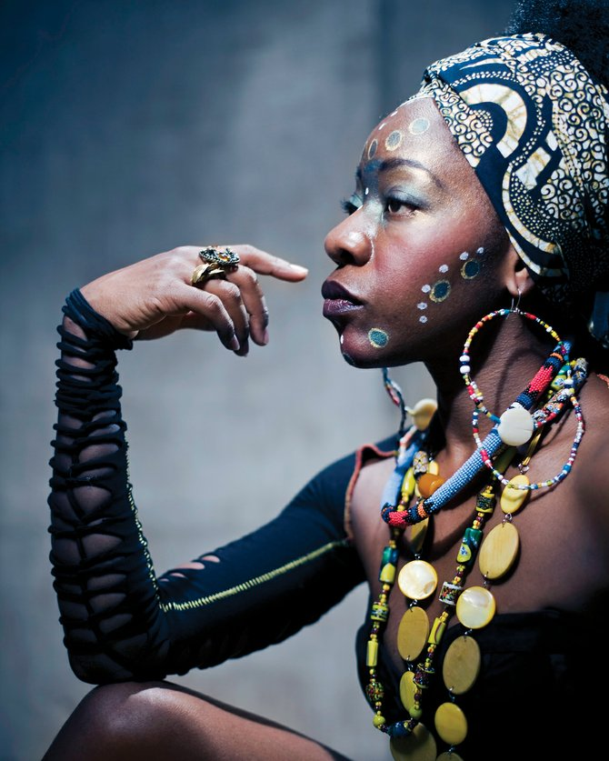 Rujeko Dumbutshena, a Zimbabwean dancer who recently appeared on Broadway, will teach a workshop at 6:30 p.m. Thursday in Library Hall at Bud Werner Memorial Library. The class costs $15.