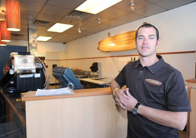 Kris Shea plans to open Cruisers Sub Shop in the Wildhorse Marketplace next Wednesday.