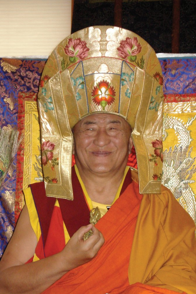 Ngawang Tenzin Rinpoche, a high-ranking Buddhist monk from Bhutan, will visit Steamboat Springs this weekend for the third time. He will speak at two public events at Olympian Hall on Saturday and Sunday, covering topics of compassion and empowerment.