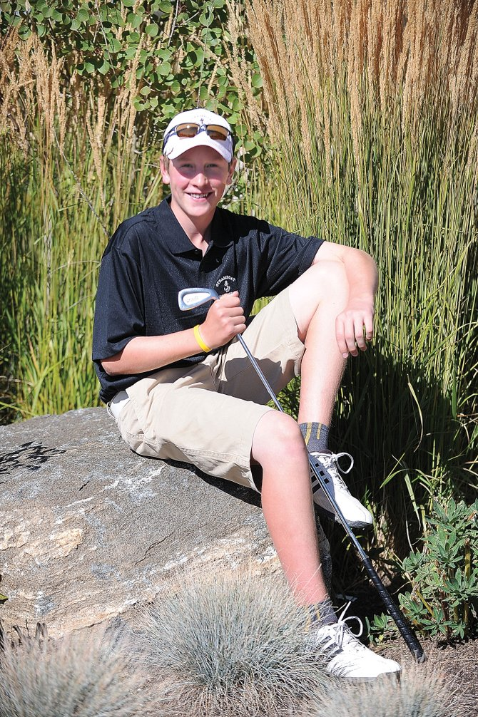 Sophomore Erik Sobeck will represent Steamboat Springs High School next week at the 4A state high school golf championships at Pelican Lakes Golf Club in Windsor.