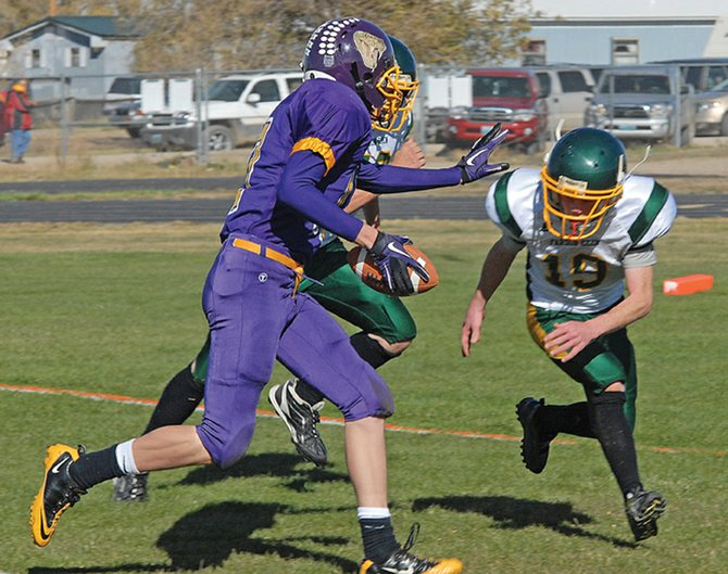 The Little Snake River Valley School's six-man varsity football team is scheduled to play Kaycee High School at 2 p.m. Friday. The Rattlers defeated Kaycee last season en route to winning Wyoming's state 1A championship.